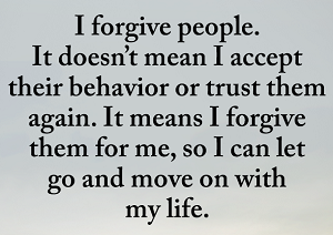 I Forgive People