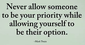 Be Your Priority