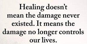 Damage No Longer Controls You