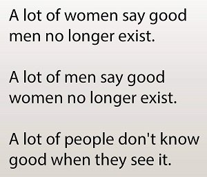 People Don't Know Good